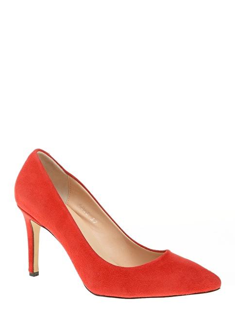 D by Divarese %100 Deri Klasik Ayakkabı Mercan